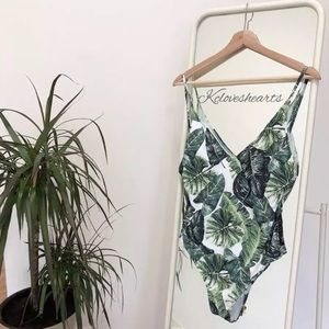 Other - BAHAMAS Palm Printed One Piece